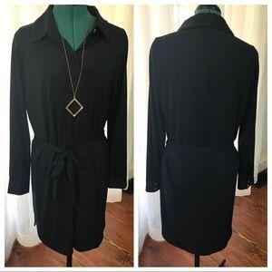 VENUS Jersey Knit Shirtdress